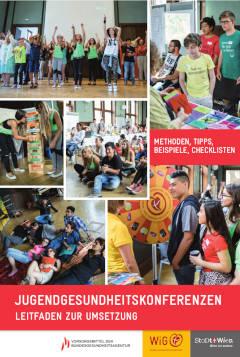 Bild des Leitfadens zur Umsetzung von Jugendgesundheitskonferenzen
