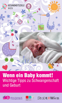 Bild der Broschuere wenn ein Baby kommt